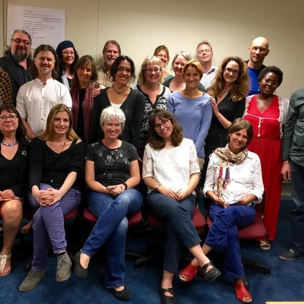 O grupo Story Abroad em Cape Town, 10 organizações, 9 países, muitas presenças