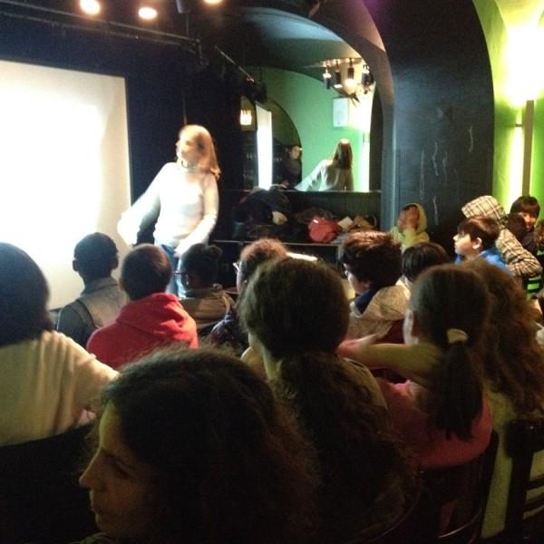 Apresentação Story Abroad no Bar Povo Lisboa